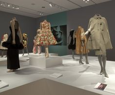 installation view: An American Legacy: Norell, Blass, Halston & Sprouse