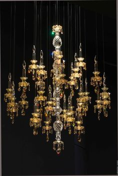 WINDFALL Chandeliers - The Balance in Golden Shadow