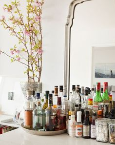 Things I wish we could do at my house - Bar Carts and Liquor Cabinets Best of 2012