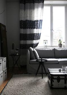 Scandinavian Home, Marimekko, Curtains, Interior, Blog, Inspiration, Design, Home Decor, Biblical Inspiration