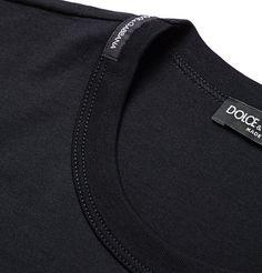 Dolce & Gabbana Cotton-Jersey T-Shirt