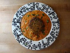Cauliflower Kofta in Creamy Tomato Gravy (pan fried instead of deep fried)   Big Sis Little Dish