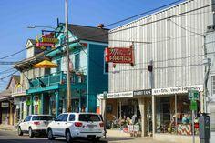 New Orleans' Oak Street has lots of funky charm to it.