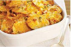 Chessy Scalloped Potatoes