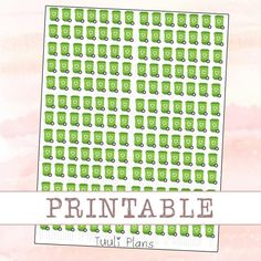 PRINTABLE planner stickers Recycle perfect for your