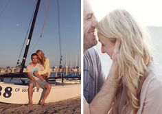 Engagement Photos:  Sun Kissed