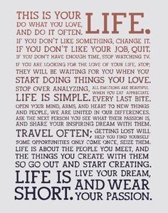 "How to Find Your Purpose and Do What You Love by Maria Popova Source: Brain Pickings Why prestige is the enemy of passion, or how to master the balance of setting boundaries and making friends. ""Find something more important than you are,"" philosopher Dan Dennett once said in discussing the secret of happiness,""and dedicate your life to it."" But..."