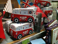 Ice-cream van from m and s