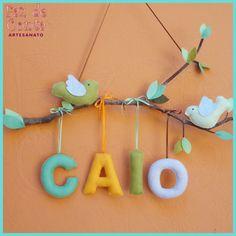 Galho porta maternidade Caio