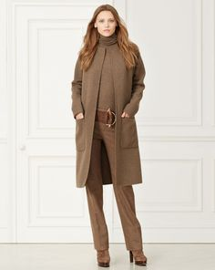 Sandra Cashmere-Wool Coat - Collection Apparel Outerwear - RalphLauren.com