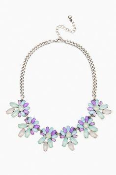 Purple Punk Necklace