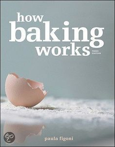 how baking works: applying food science to the bakeshop as the essence of baking is chemistry.  Great reference when teaching food science