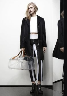 Acne Over-sized Transparent Bag