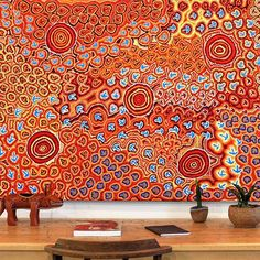 Sourced and sold ethically, Art Ark brings you beautiful Aboriginal artworks which support social and economic enterprise in remote Australia. Aboriginal Painting, Aboriginal Artists, Dot Painting, Indigenous Australian Art, Indigenous Art, Art For Art Sake, Art Graphique, Diy Wall Art, Texture Art