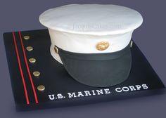 Marine Corps Cake