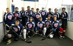 No one is cool than a Hockey player! Check out ours... Hockey playing Service Members.