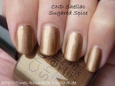 CND Shellac Sugared Spice 1 auf http://tines-kosmetik.blogspot.de/2013/10/cnd-shellac-sugared-spice.html