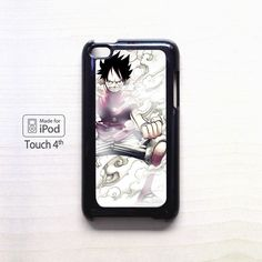 One piece luffy AR for apple case iPod 4/iPod 5