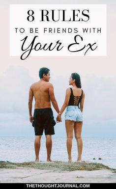 8 rules to follow if you want to stay friends with your ex boyfriend or girlfriend. After a breakup you may feel heartbroken and lonely and miss the company of your ex partner, and you can stay friends with them if you miss your ex. This is how to actually be friends with an ex after breaking up with them or being broken up with. #breakup #relationships #breakups #heartbreak #dating #love #romance #mentalhealth #selfcare