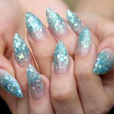 """✨Sweet under the sea nails for @hedonisticnun!✨ #nailpopllc #nailart nailpopllc.com"""