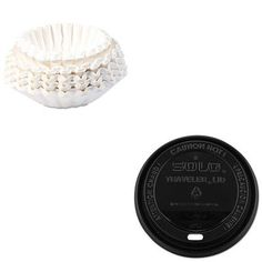 KITBUN1M5002SLOTLB316  Value Kit  Solo Traveler DrinkThru Lids SLOTLB316 and Bunn Coffee Commercial Coffee Filters BUN1M5002 *** You can get additional details at the affiliate link Amazon.com.