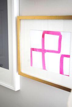 New! GALLERYWALL by Sarah Swanson Design.. $10 art!