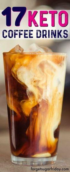 17 AMAZING Keto coffee drinks!! ketogenicrecipes #ketofatbomb
