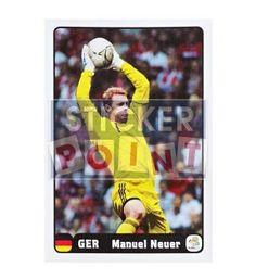 Panini Em Euro 2012 Manuel Neuer Sticker 4 von 6 vorne