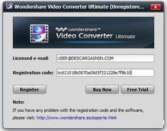 register wondershare video converter ultimate