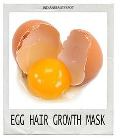 Egg Hair growth Mask
