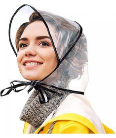 Rain Bonnet, Rain Hat, Caps Hats, Women's Hats, Wearing Black, Hats For Women, Korean Fashion, Lady, How To Wear