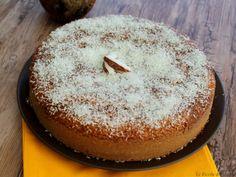 torta al cocco marmorizzata con yogurt
