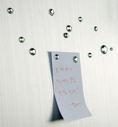 waterdrop magnets byn yanko design.