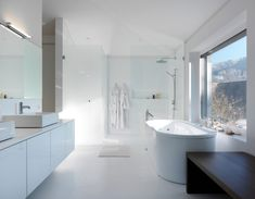 20 Contemporary Bathrooms with Vaulted Ceiling