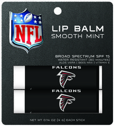 Atlanta Falcons Lip Balm 2pk