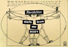Grafica Nera - Revolution starts from your body