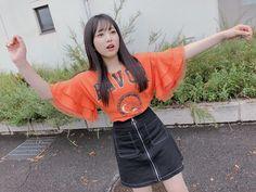 """矢吹奈子さんのツイート: """"握手会ありがとうございました😌 沢山の「おめでとう」の言葉、本当に嬉しかったです🙇🏻♂️✨ NiCORONの洋服です!かわいい🧡… """" Kpop Girl Groups, Kpop Girls, Yuri, Honda, Eyes On Me, Japanese Girl Group, Famous Girls, Kpop Outfits, Body Inspiration"""