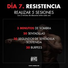 Día 7. Resistencia. #RetoDelBoxeador #Box #Boxing #CletoReyes #workout #training