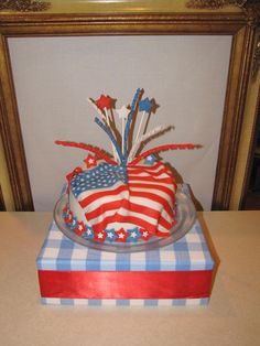 Check out these best-rated Memorial Day Cakes made out of patriotic coloring; red, white and blue that will put provide the ideal finish for a Memorial Day gathering. Fourth Of July Cakes, July 4th, Family Holiday, How To Make Cake, Independence Day, Memorial Day, Summer Time, Fondant, Picnic