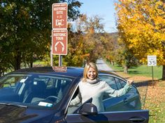 Follow Sam Brown as she takes a scenic fall drive through New York's Hudson Valley, stopping at Millbrook Vineyards and Winery, McEnroe Farm, Oakhurst Diner and more.