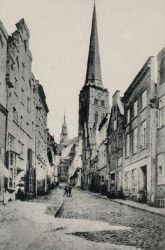 Postkartenbox «Lübeck vor 100 Jahren»