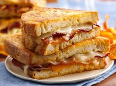 17 Fancy Grilled Cheese Sandwiches -- because I'm obsessed with grilled cheese!!! :)