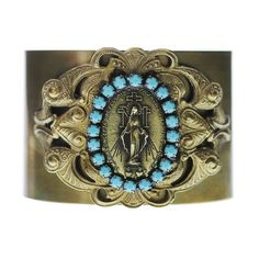 A stunning faith accessory and reminder of the Blessed Mother's protection and abundant graces.