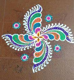 Rangoli by Bhuvana