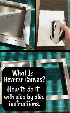 Cricut for Beginners - What Is Cricut Reverse Canvas? Step by step tutorial with pictures. Learn to create stunning Cricut Reverse Canvas Projects in just a few minutes.Easy, Quick and Fun! Canvas Crafts, Vinyl Crafts, Vinyl Projects, Art Projects, Canvas Projects Diy, Project Canvas, Project Ideas, Paper Crafts, Cricut Craft Room