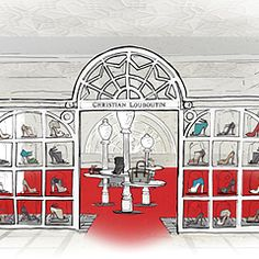 Lee Broom Designs New Christian Louboutin Store at Harrods