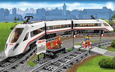 tren de pasajeros de alta velocidad