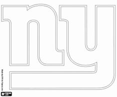 New York Giants Logo coloring page from NFL category ...