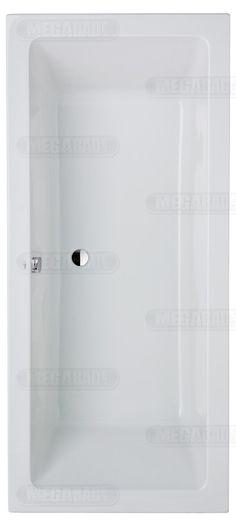 Megabad Classic Rechteckbadewanne 180 x 80 cm MBXTUBE180 -  €  299,00