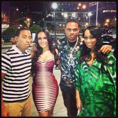Luda & Eudoxiee, Monica & Shannon